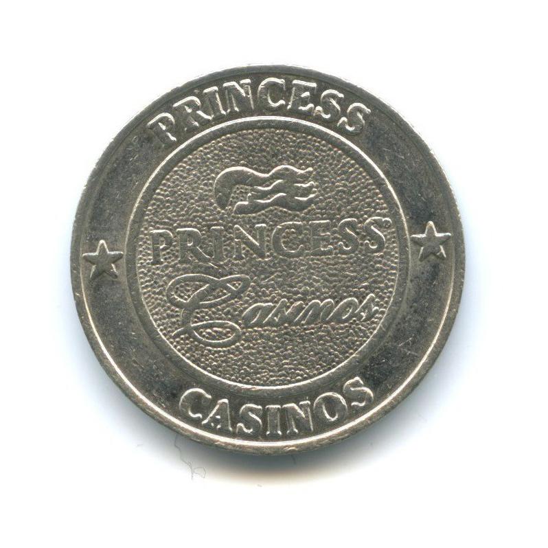 Жетон игровой «Twenty five cents, Princess Casinos»