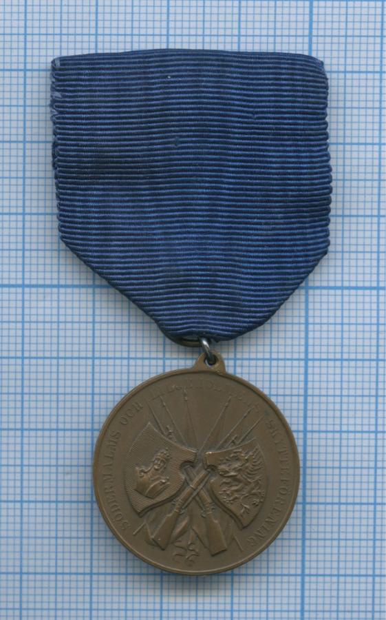 Медаль «Södermalms och liljeholmens skytteförening» (Швеция)