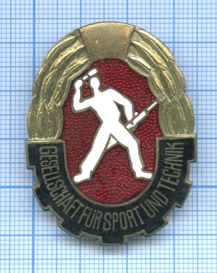Знак «Gesellschaft fur sport und technik» (Германия)