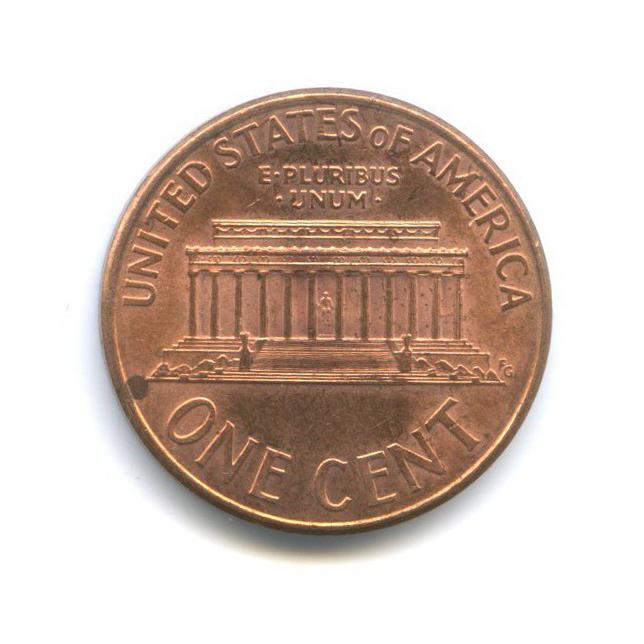 1 цент 2000 года D (США)