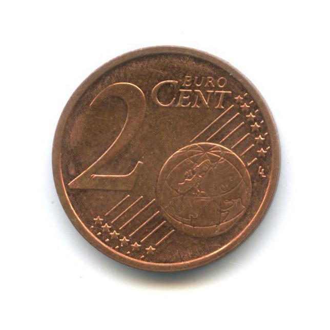 2 цента 2012 года F (Германия)