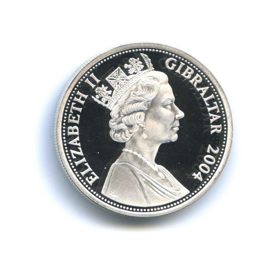 5 фунтов - Высадка вНормандии. D-Day, Гибралтар 2004 года
