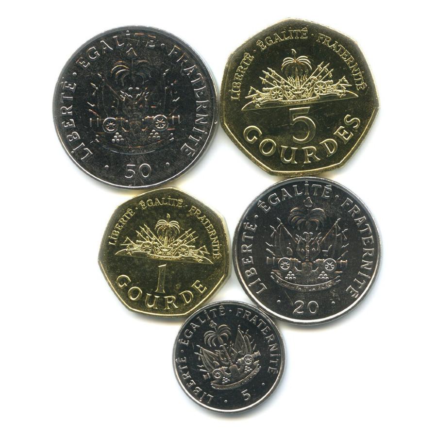 Набор монет, Республика Гаити