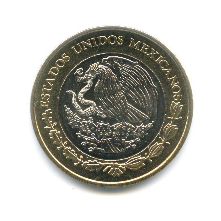 10 песо — 150 лет Битве при Пуэбле 2012 года (Мексика)