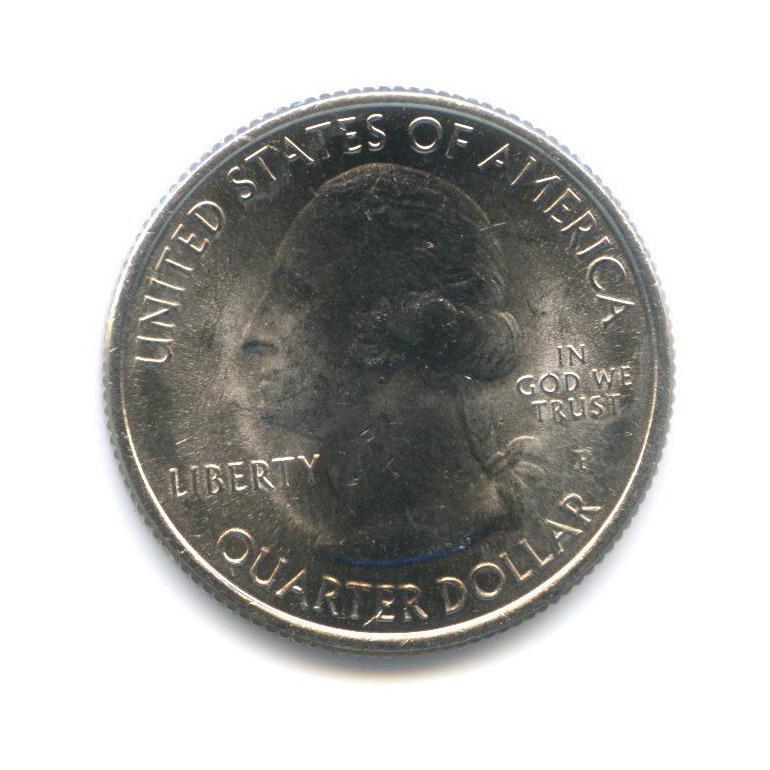 25 центов (квотер) — Национальный парк Денали, вцвете 2012 года P (США)