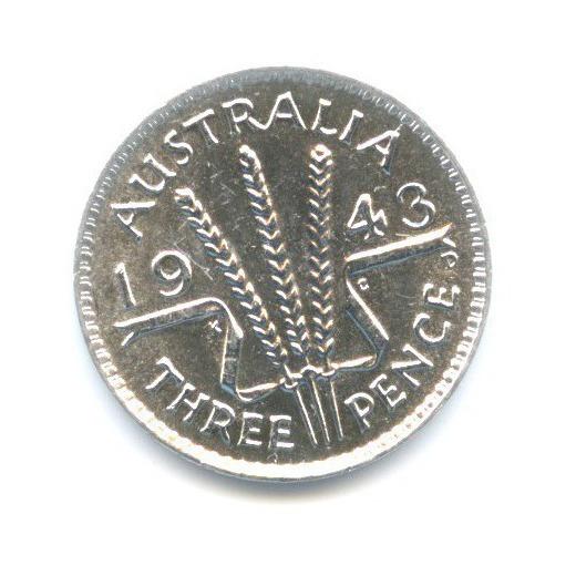 3 пенса 1943 года (Австралия)