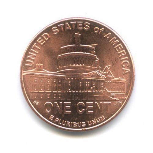 1 цент — 200 лет содня рождения Авраама Линкольна - Президентство вВашингтоне 2009 года D (США)