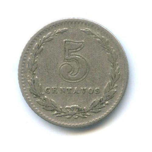 5 сентаво 1939 года (Аргентина)