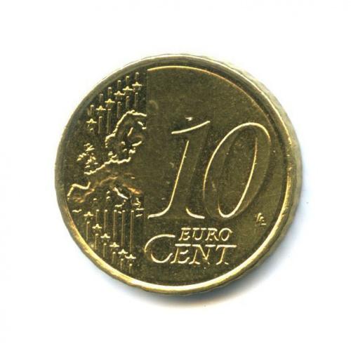 10 центов 2008 года (Испания)
