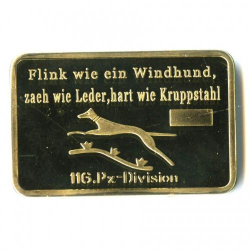Жетон «116.Pz-Division»