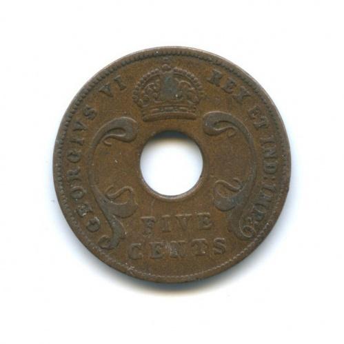 5 центов, Восточная Африка 1942 года