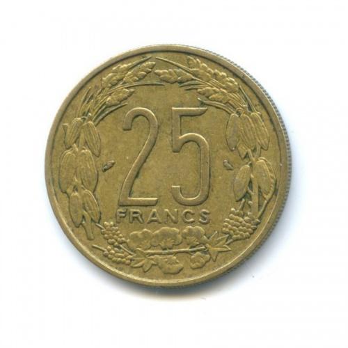 25 франков, Камерун 1970 года