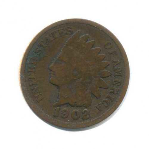 1 цент 1902 года (США)