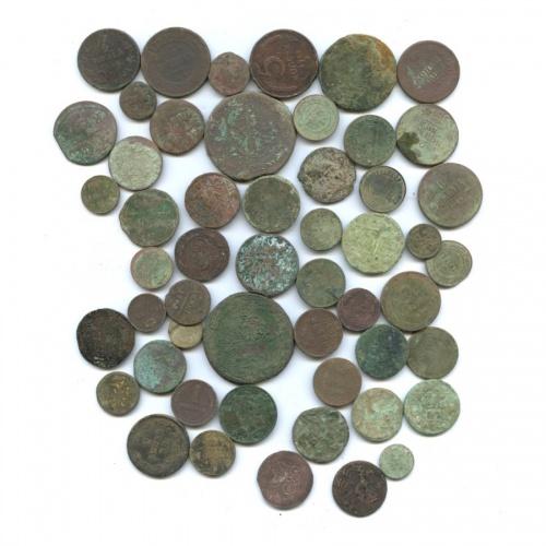 Набор монет (Российская Империя, СССР, Швеция), 52 шт
