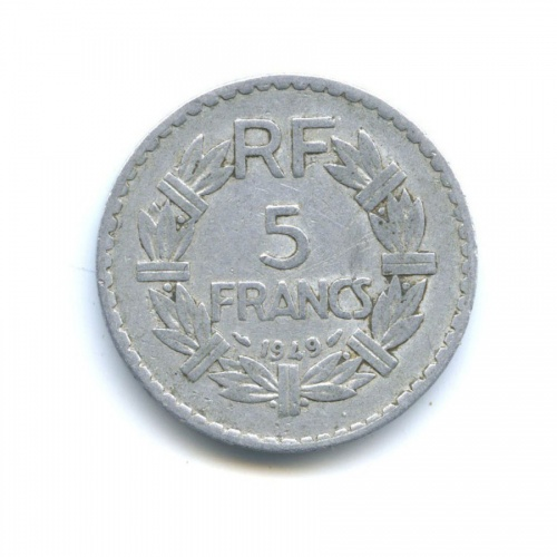 5 франков 1949 года (Франция)