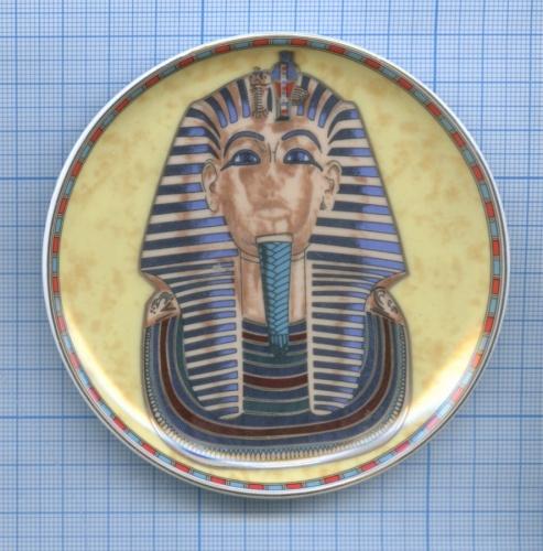 Тарелка сувенирная (фарфор) (Египет)