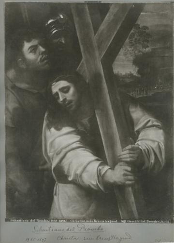Лист альбомный сфотографией «Chistus, sein Kreuztragend» (34×24 см) (Германия)