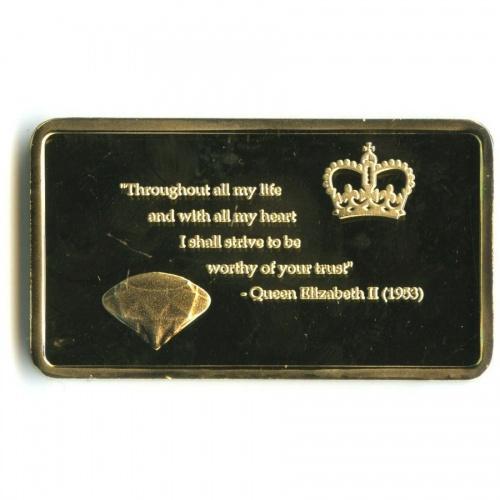 Жетон «Королева Елизавета II»