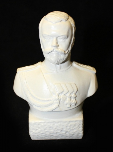 Бюст «Николай II», 9,5 см