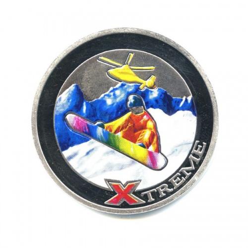10 динар - Экстремальный спорт - Сноубординг, Андорра 2007 года