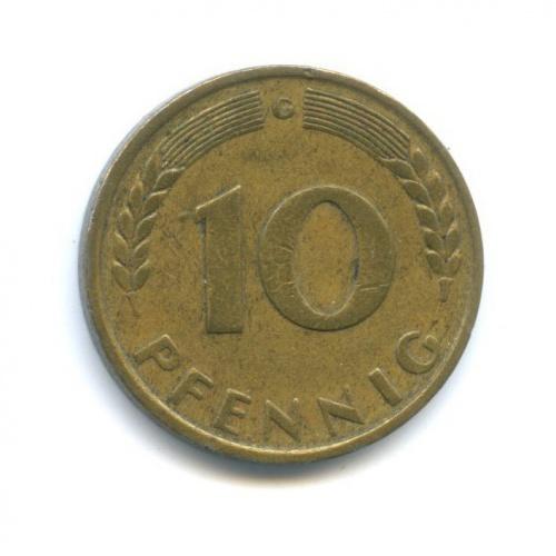 10 пфеннигов 1949 года G (Германия)