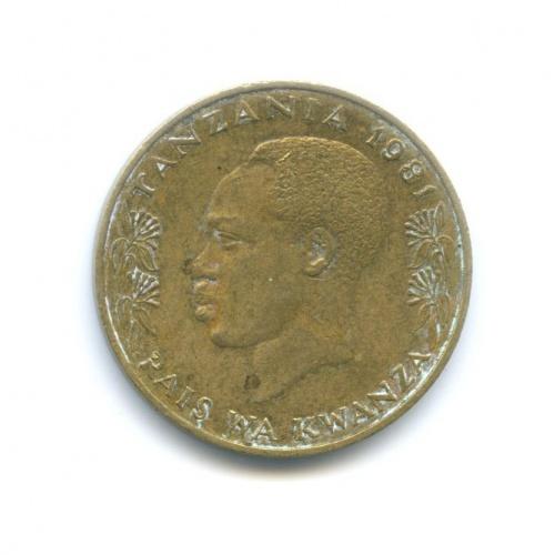 20 сенти - Танзания 1981 года