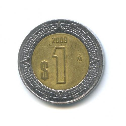 1 песо 2009 года (Мексика)