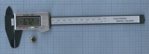 Измеритель электронный «Carbon Fiber Composites Digital Caliper» (150 мм)
