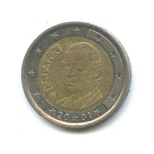 2 евро 2001 года (Испания)
