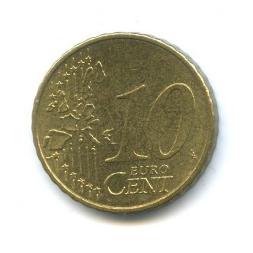 10 центов 2002 года G (Германия)