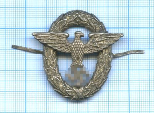 Кокарда младших чинов водной полиции обр. 1934 года (реплика) (Германия (Третий рейх))