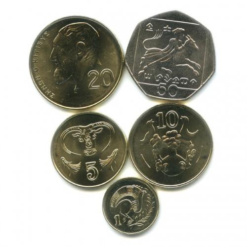 Набор монет 2004 года (Кипр)