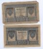 Набор банкнот 1 рубль 1898 года Шипов, Плеске (Российская Империя)