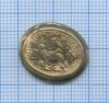 Золотая брошь, XIX в. (без булавки)