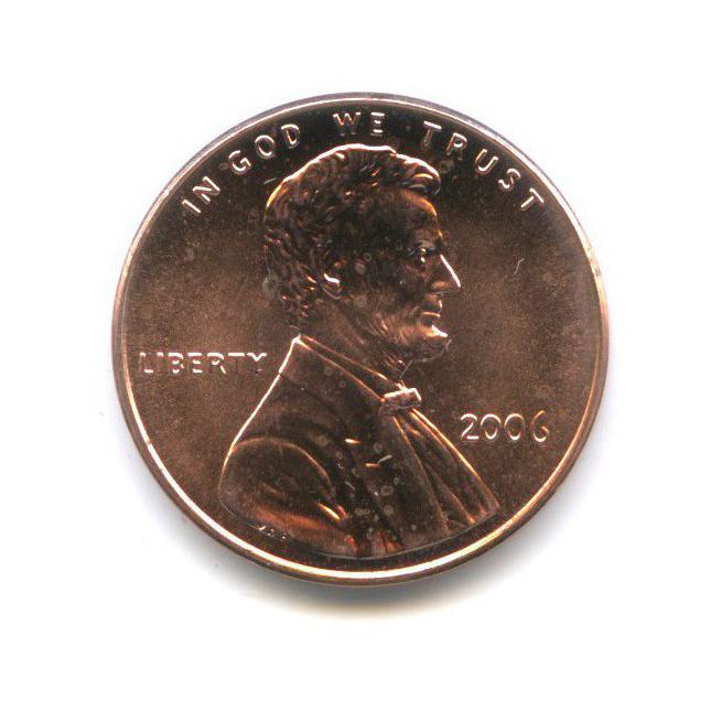 1 цент 2006 года (США)