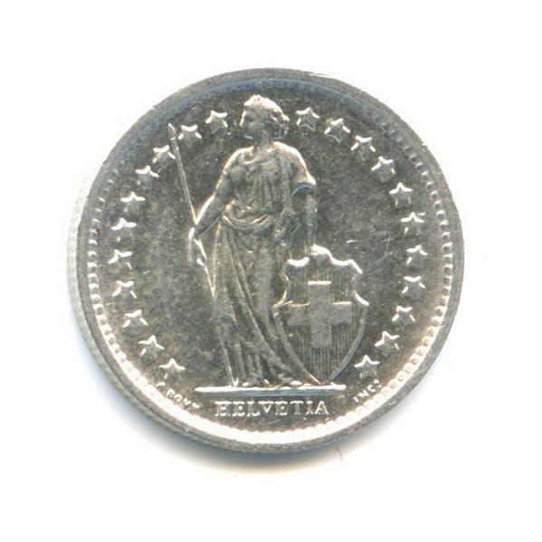 ½ франка 1965 года (Швейцария)