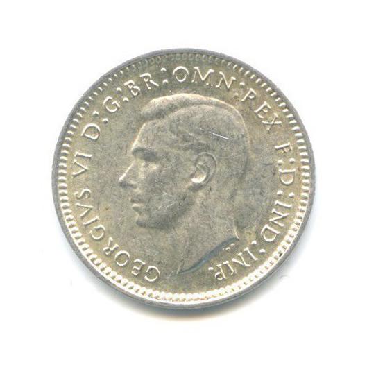 3 пенса 1942 года D (Австралия)