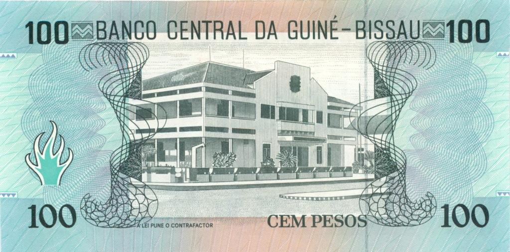 100 песо (Гвинея-Бисау) 1990 года