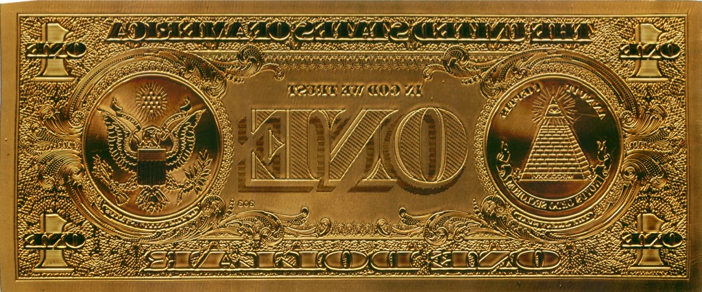 1 доллар (США, сувенирная банкнота)