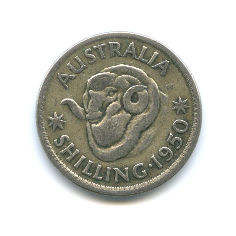 1 шиллинг 1950 года (Австралия)