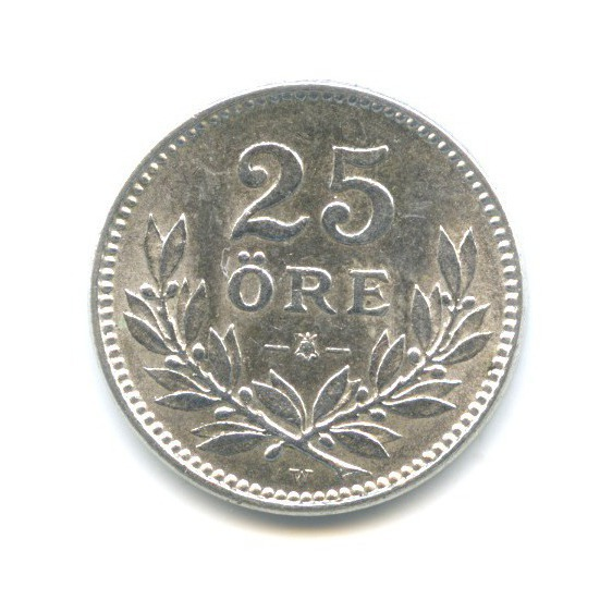 25 эре 1917 года (Швеция)