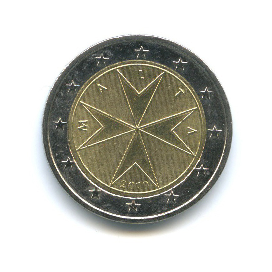 2 евро 2010 года (Мальта)