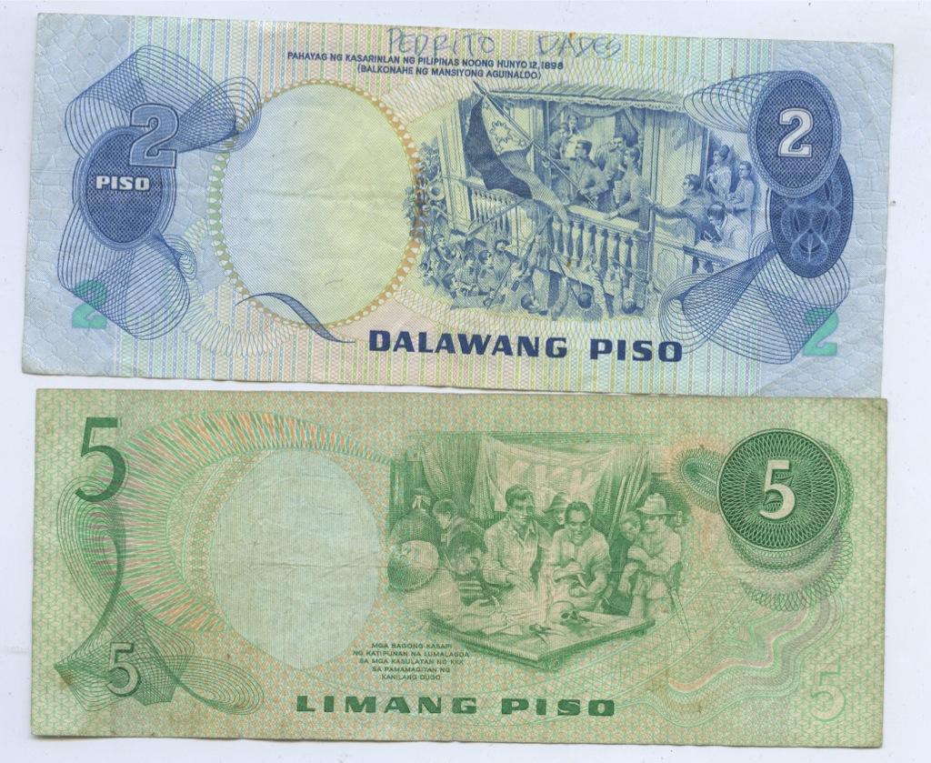 Набор банкнот (Филиппины)