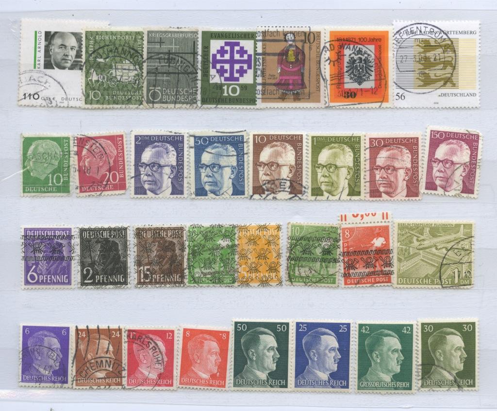 Набор почтовых марок (Германия)