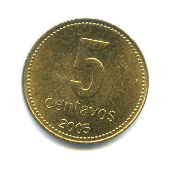 5 сентаво 2005 года (Аргентина)