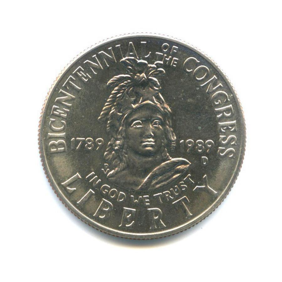 50 центов — 200 лет Конгрессу 1989 года D (США)