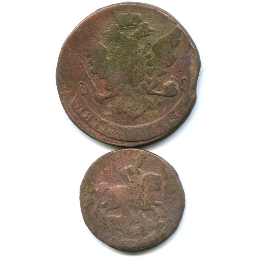 Набор монет Российской Империи 1758, 1759 (Российская Империя)