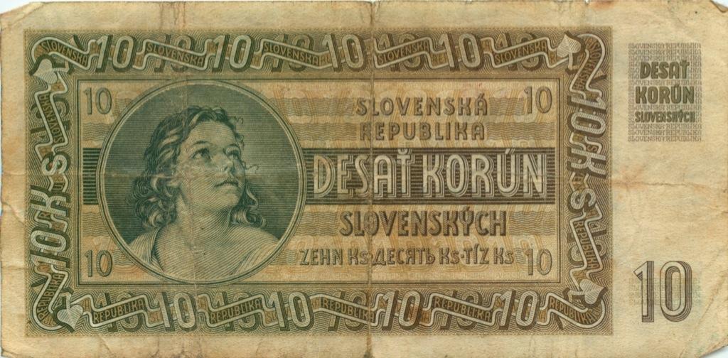 10 крон 1939 года (Словакия)