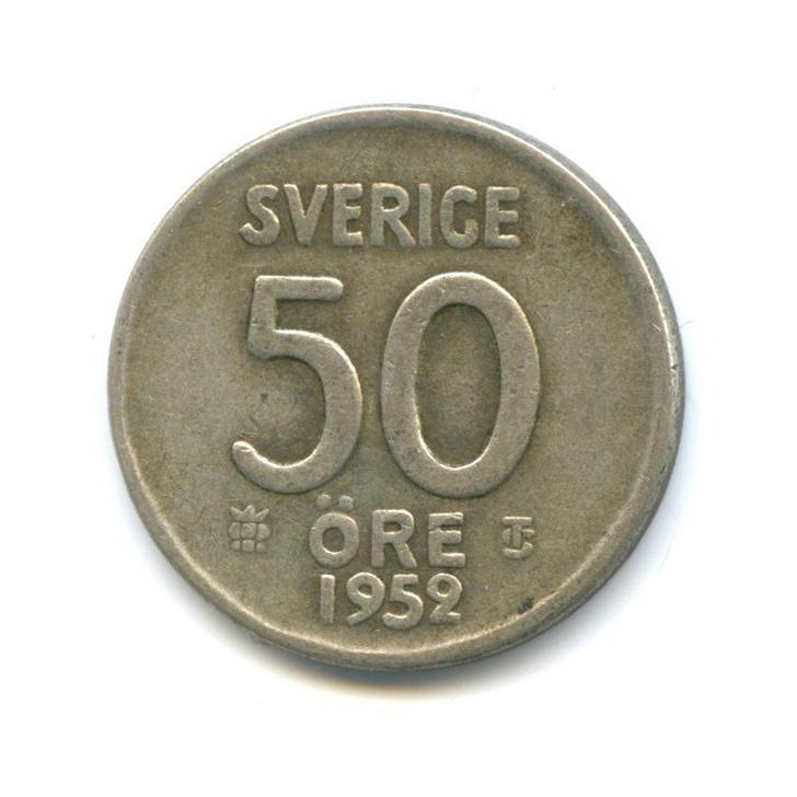 50 эре 1952 года (Швеция)