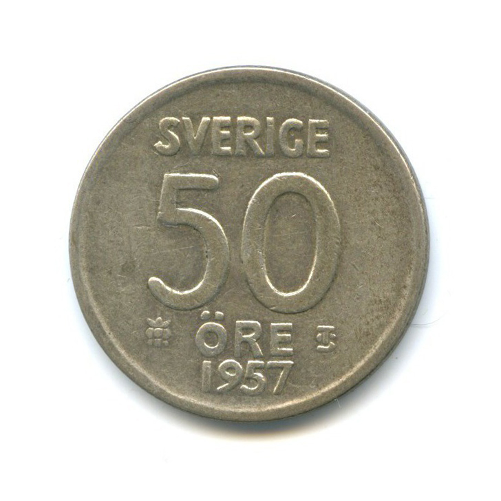 50 эре 1957 года (Швеция)